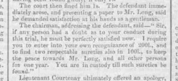 1829c 23rd January London Standard Part Three