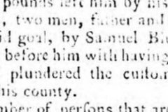 1786 6th February 1786 Sussex Advertiser