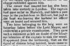 1802 original 23rd August Hampshire Chronicle Part Two