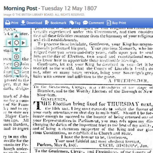 1807 12th May Morning Post