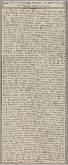 1833ia 10th September Newcastle Journal