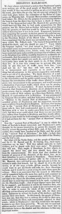 1837e 11th April Brighton Patriot