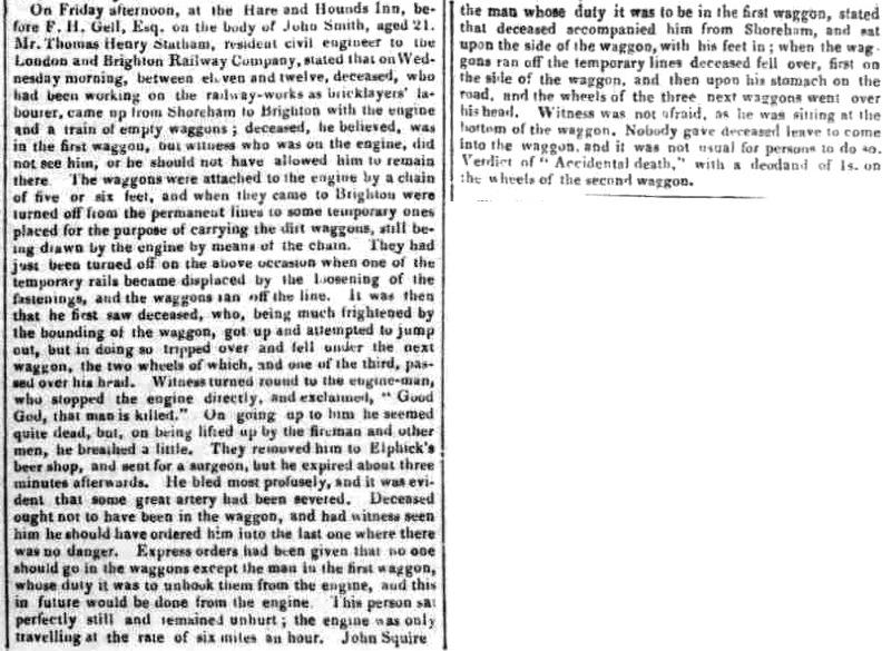 1840bc 3rd February SA