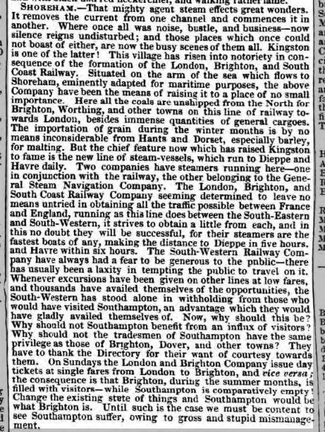 1847i 11th September Hampshire Advertiser