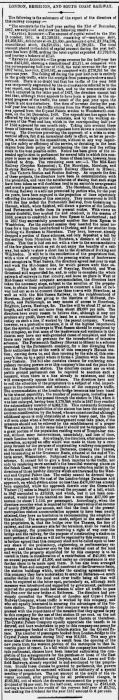 1858an 26th January SA Railway