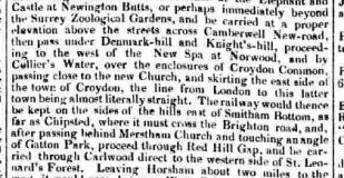 1835i RAILWAY ROUTE DETAILED 23rd September