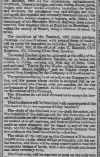 1838f 11th June Birmingham Gazette