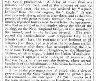 1840ed 18th May Hampshire Telegraph RAILWAY OPENING