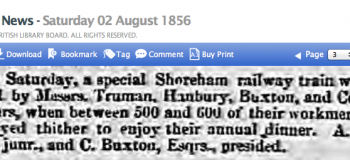 1856h FIRMs OUTING NORFOLK TO SHOREHAM