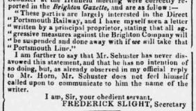 1858af 12th January Railway