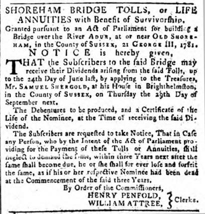 1785 8th August SA