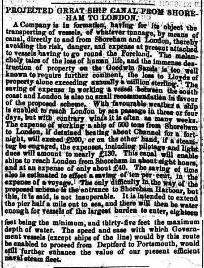 1856ka 1st November Hampshire Advertiser