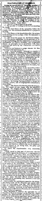1845 Sussex Chronicle 12th July 1845