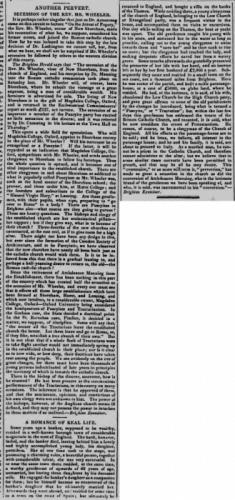 1856aa January 1st Cheltenham Chronicle