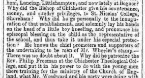 1856ad 5th January Hampshire Sussex Chronicle