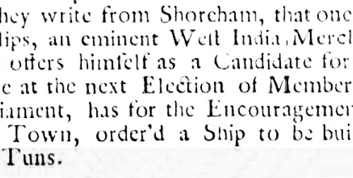 1733 27th October Newcastle Courant