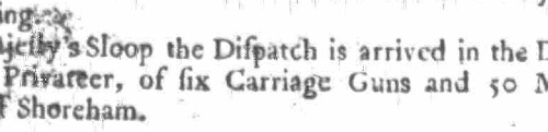 1758d Newcastle Courant 18th Feb