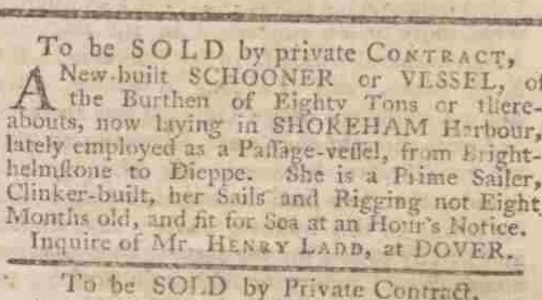 1770da Kentish Gazette 28th April