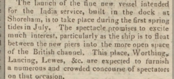 1819 14th June SA Ships