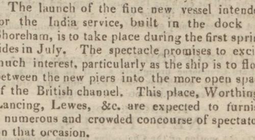 1819a 14th June SA Ships