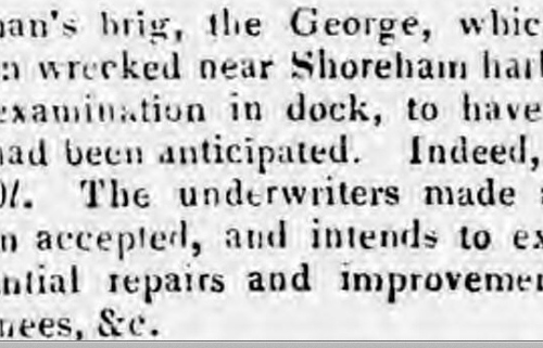 1839p 23rd December Sussex Advertiser