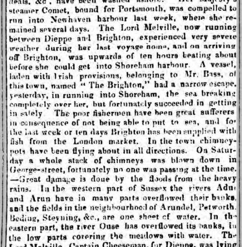 1841jd 21st October Devizes Gazette