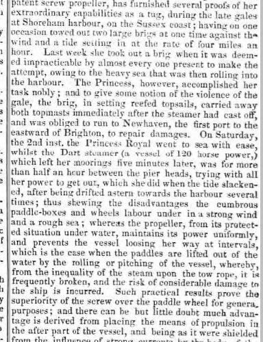 1841ke 27th November Sheffield Independent