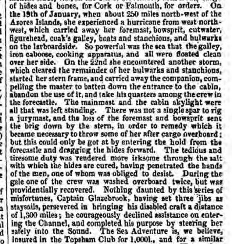 1854bb 15th February Derby Mercury