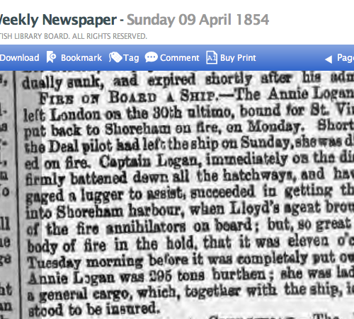 1854db 9th April