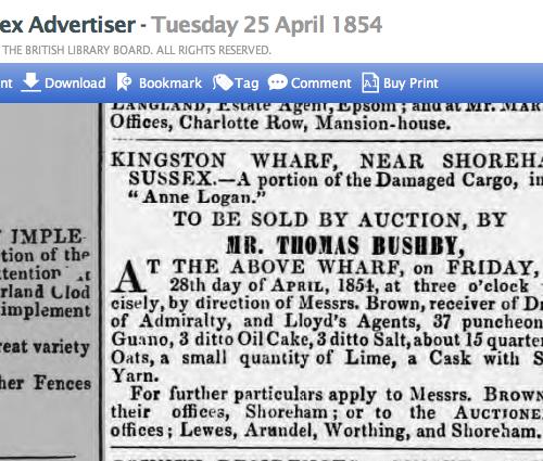 1854dd 25th April