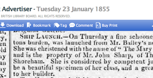 1855ad 23rd January SA