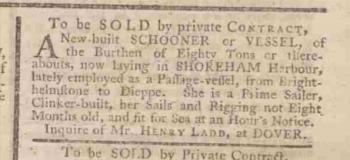 1770da Kentish Gazette 28th April