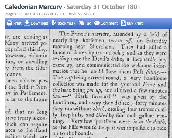 1801b 31st October Caledonian Mercury