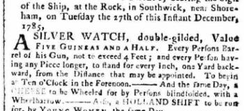 1786 19th December SA