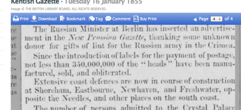 1855ab 16th January Kentish Gazette