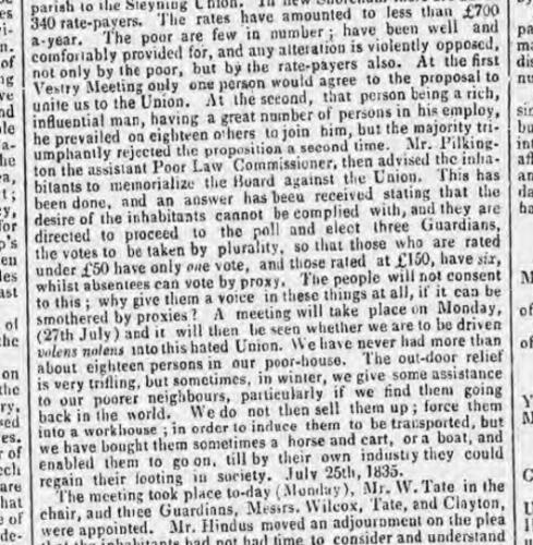 1835a 28th July Brighton Patriot