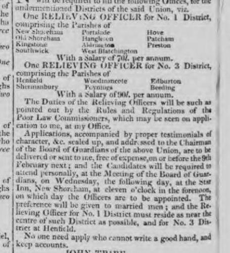 1836 1st February Hampshire Telegraph