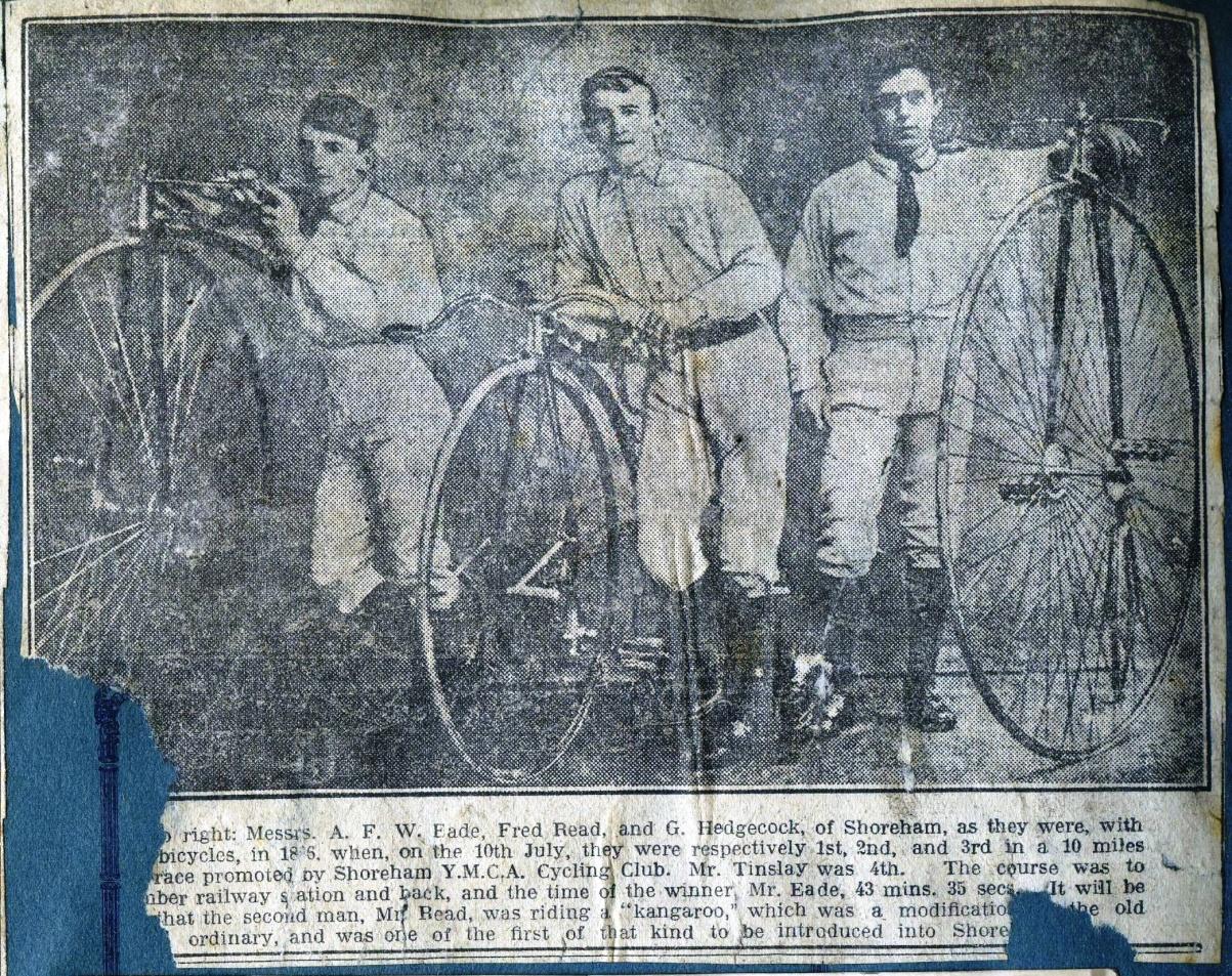1886 Cyclists 1886.jpg