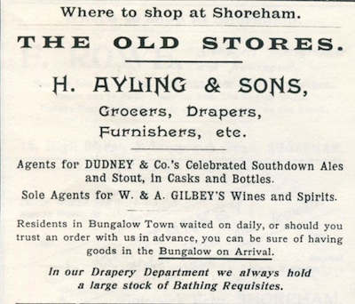 A1c 1907 Ayling Advert