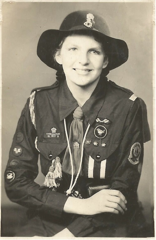 AH12 Ailsa Elder - Girl Guide