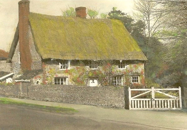 AH16 Rectory Cottage in Kingston Lane opposite Ashcroft