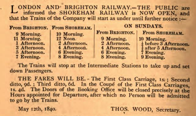 E Timetableadvert 1840
