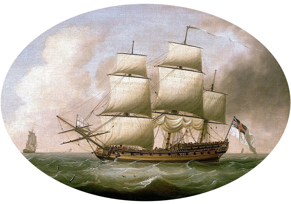 2 1690 Frigate NMM Original