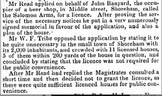 Description: Macintosh HD:Users:rogerbateman:Desktop:Royal Sovereign:Sussex Advertiser 5th September 1848.png