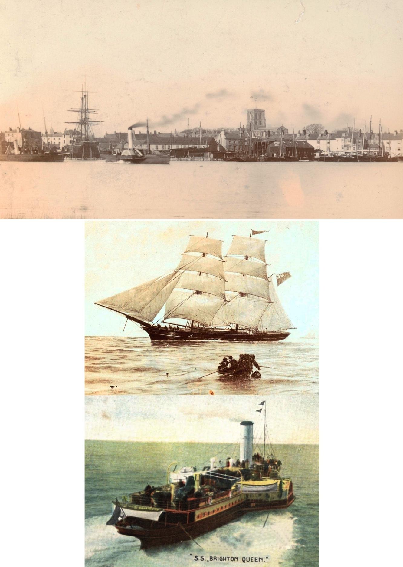 Ship Yard, Blue Bell & Brighton Queen