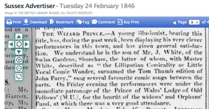 1846bc A REPORT FROM RYE TOWN