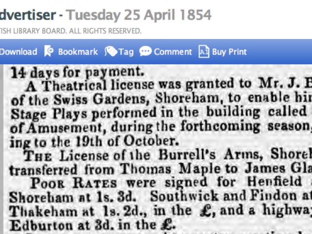 1854dc 25th April