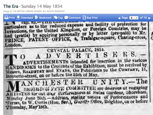 1854eb 14th May