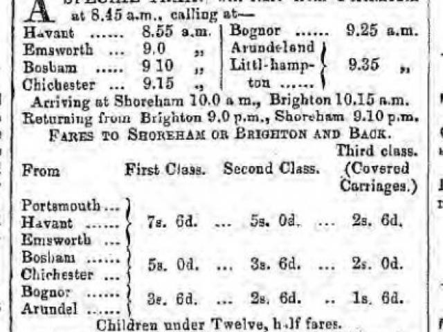 1857d 4th April Hampshire Telegraph