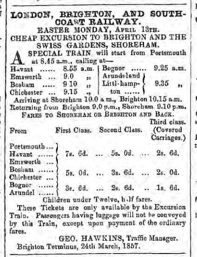 1857d 4th April Hampshire Telegraph